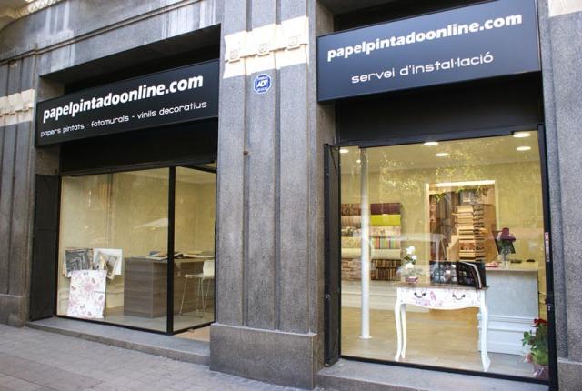 Tienda Papeles Pintados Barcelona