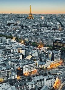 Fotomural Paris.Aerial Veiw Ref. 434