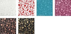 Colores Disponibles: Blanco Perla 2550-13 - Rojo 2550-20 - Azul Turquesa 2550-37,Morado 2550-44,Cobre 2550-51,Dorado 2550-68