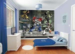 Fotomural Infantil Transformers