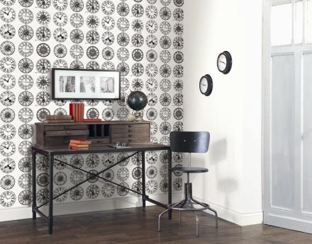 Papel Pintado Colección Black and White Caselio