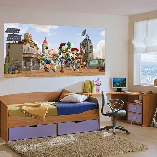 Fotomural Toy Story Infantil Panoramico Disney