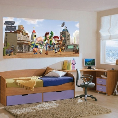 Fotomural Toy Story Infantil Panoramico Disney