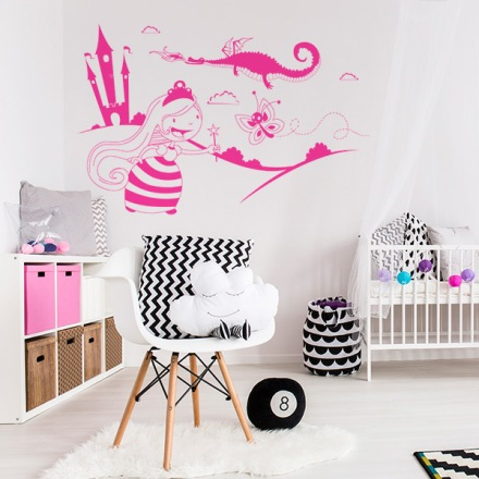 Vinilo Decorativo Infantil IN046A