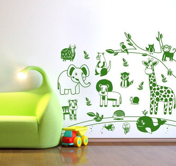 Vinilo Decorativo Infantil IN097