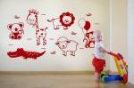 Vinilo Decorativo Infantil IN099