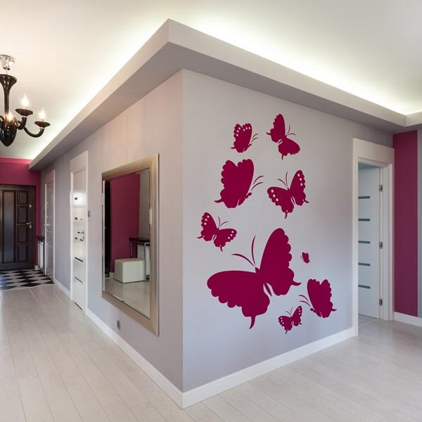 Vinilos decorativos modernos papel pintado barcelona - Papel pared barcelona ...