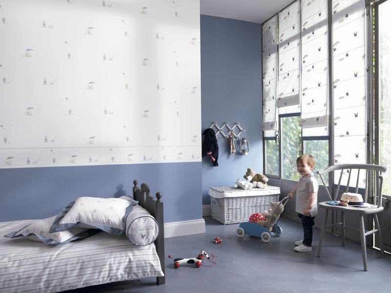 Papel pintada para habitaciones infantiles papel pintado barcelona - Papel pintado habitacion bebe ...