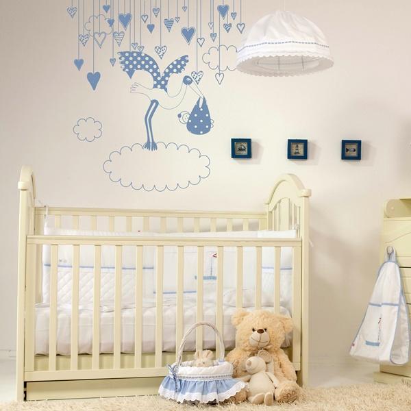 Decorar habitacion infantil papel pintado barcelona for Vinilos habitacion