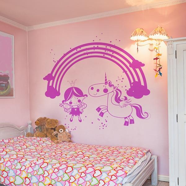 Vinilos decorativos infantiles papel pintado barcelona - Habitaciones pintadas infantiles ...
