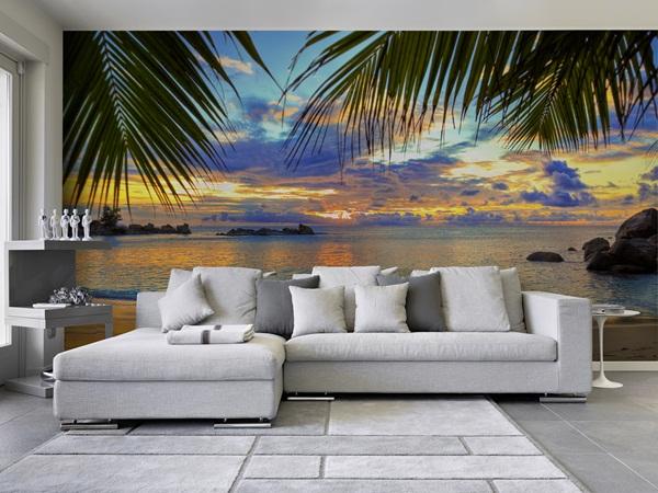 Fotomurales playas papel pintado barcelona for Papel pintado paisajes