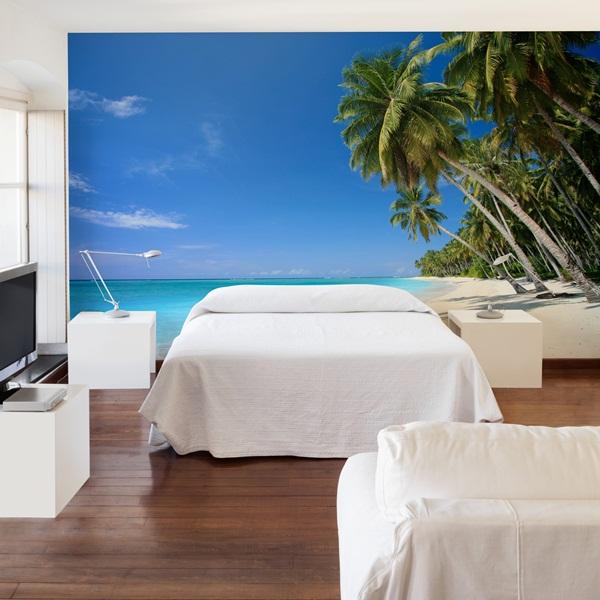 Fotomurales playas papel pintado barcelona - Vinilo pared barato ...