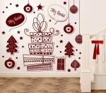 Vinilo Decorativo Navidad NA001