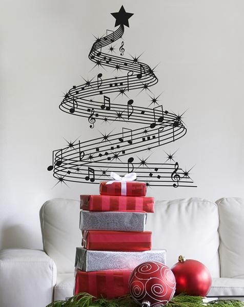 vinilos decorativos navidad papel pintado barcelona