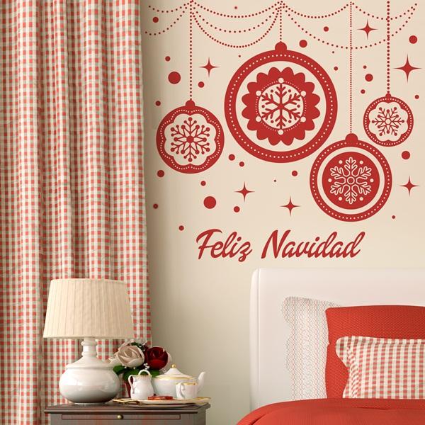 Vinilo Decorativo Navidad NA008