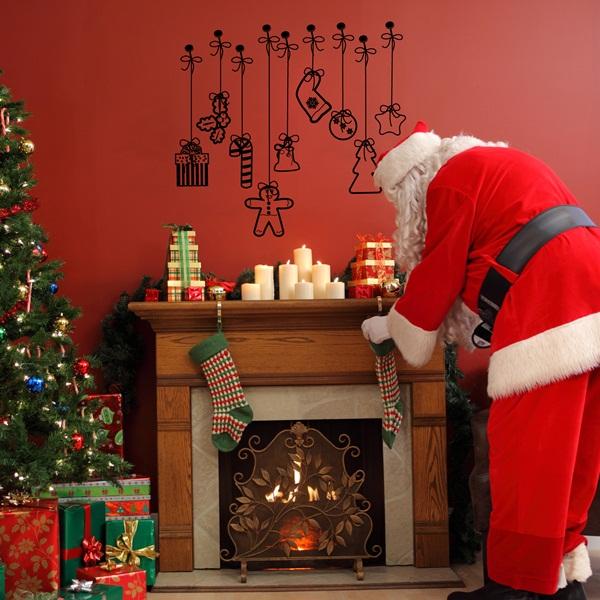 Vinilo Decorativo Navidad NA009