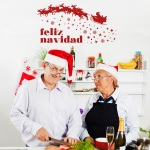 Vinilo Decorativo Navidad NA010