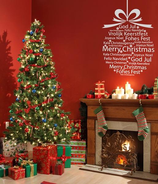 Vinilo Decorativo Navidad NA016