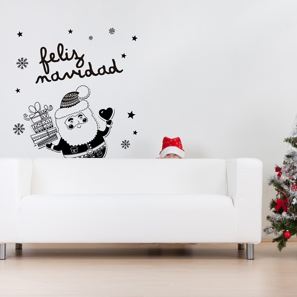Vinilo Decorativo Navidad NA017