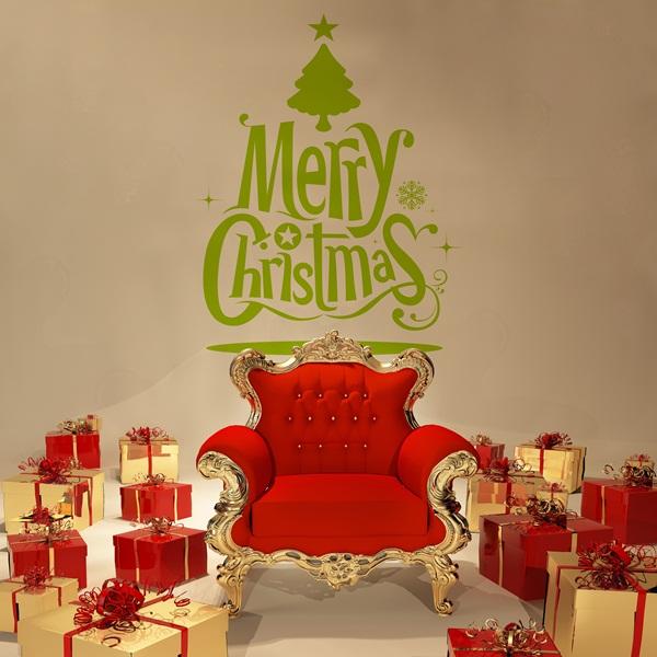Vinilo Decorativo Navidad NA018
