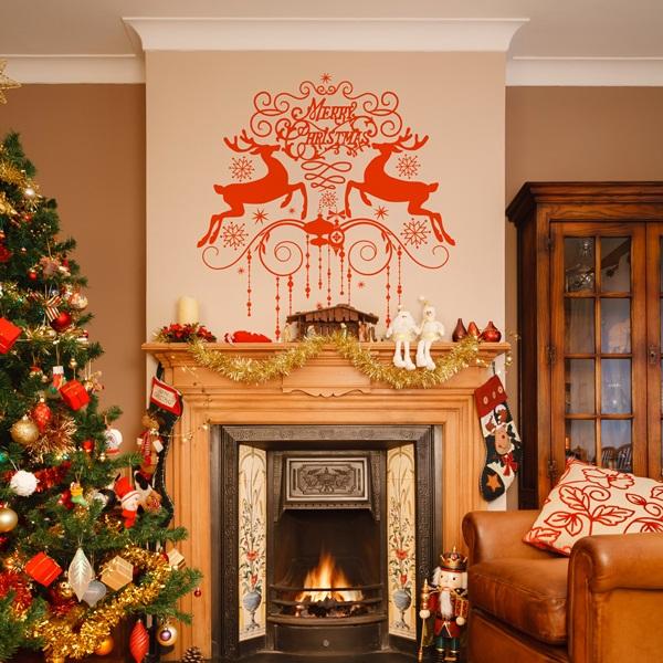Vinilo Decorativo Navidad NA020