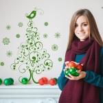 Vinilo Decorativo Navidad NA021