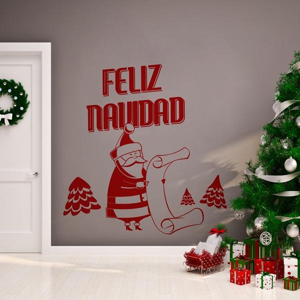 Vinilos decorativos navidad papel pintado barcelona - Vinilos decorativos de navidad ...