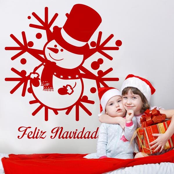 Vinilos Decoracion Navidad ~ Vinilos Decorativos Navidad en Barcelona  Papel Pintado Barcelona