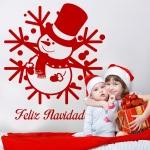 Vinilo Decorativo Navidad NA025