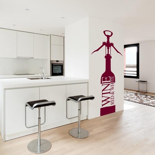 Vinilos decorativos cocinas papel pintado barcelona for Vinilos pared cocina
