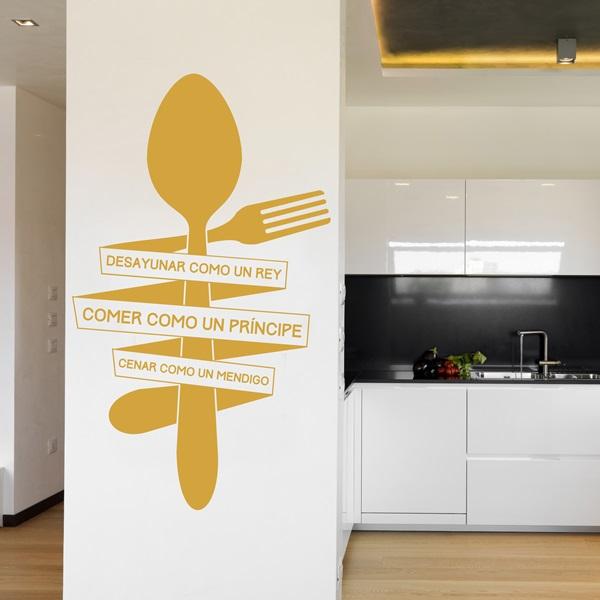 Vinilo decorativo cocina co005 papel pintado barcelona for Vinilos de cocina