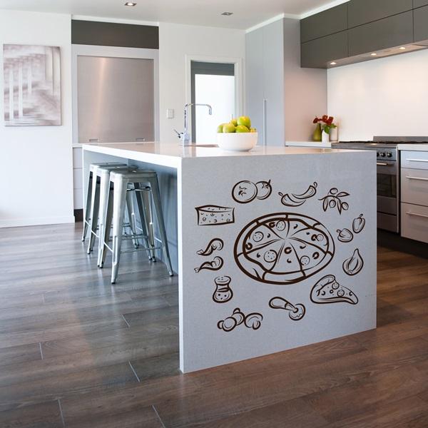 Vinilos decorativos cocinas papel pintado barcelona - Papeles decorativos para cocinas ...