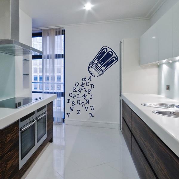 Vinilos decorativos cocinas papel pintado barcelona for Paredes de cocina decoradas
