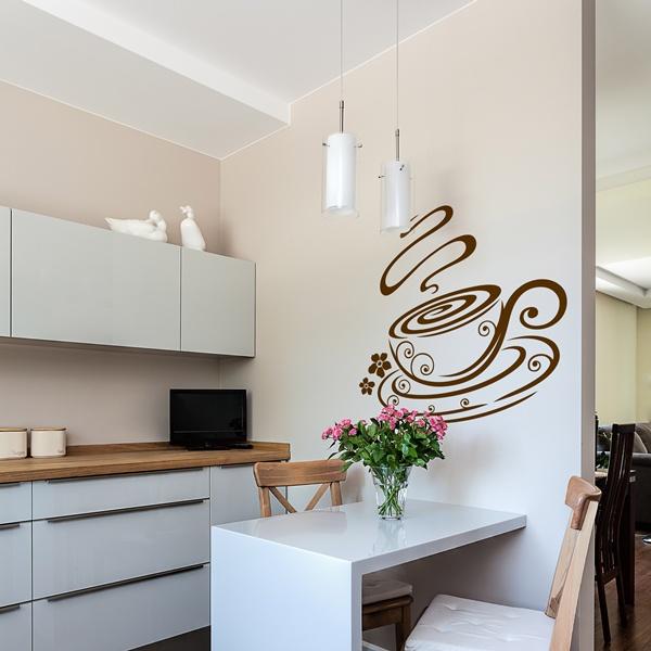 Vinilo decorativo cocina co020 papel pintado barcelona - Papel decorativo cocina ...