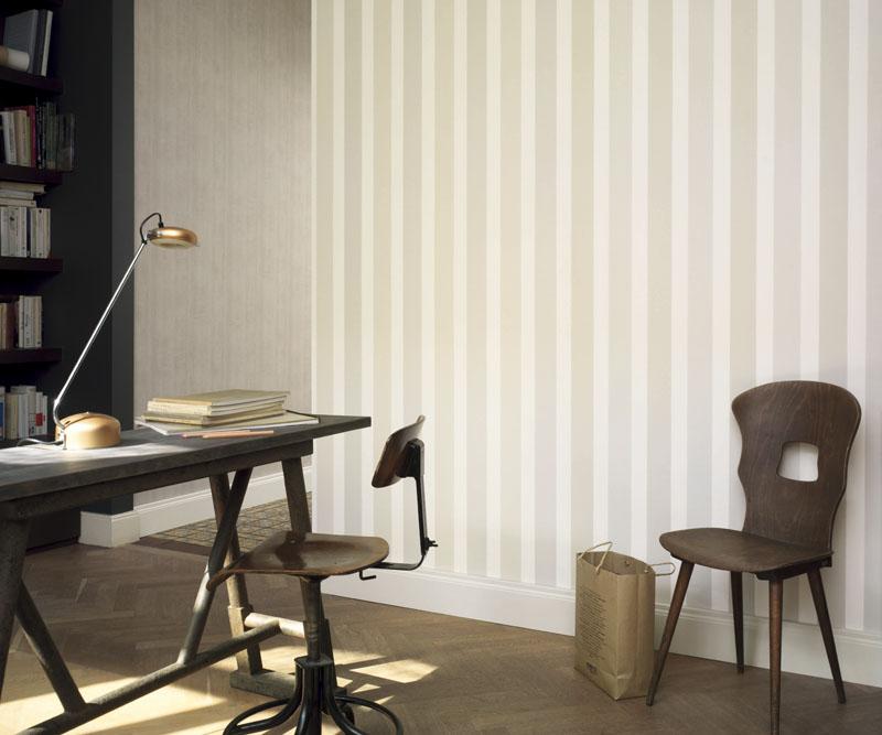 Papeles pintados elegantes papel pintado barcelona - Habitaciones con papel pintado y pintura ...