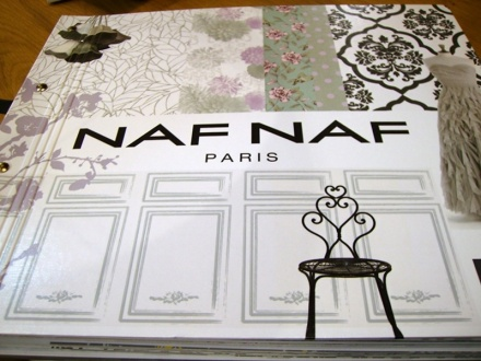 Papel Pintado Naf Naf Paris
