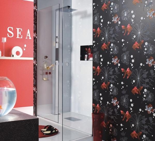 Papel pintado cocinas y ba os aquadeco 2015 en barcelona - Papel pintado en barcelona ...