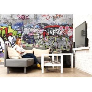 Fotomural graffiti papel pintado barcelona - Fotomurales barcelona ...