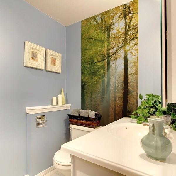 Decorar una puerta con fotomurales papel pintado barcelona for Fotomurales naturaleza