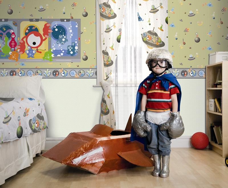 Papel pintado infantil coconet papel pintado barcelona for Papel pintado infantil