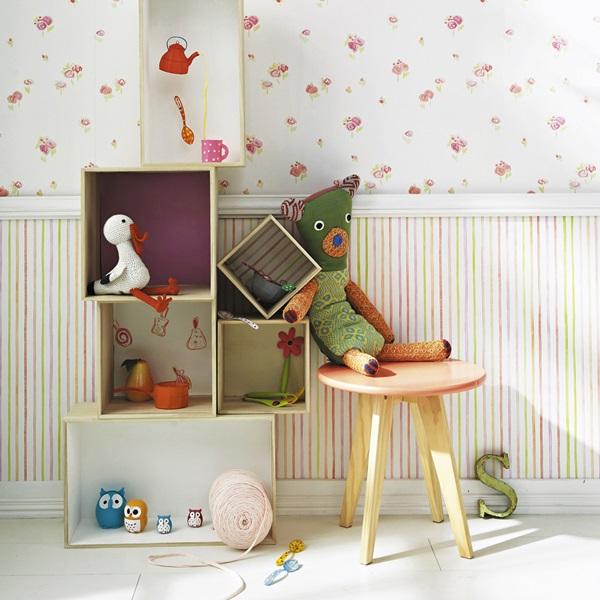 Papel pintado infantil camengo papel pintado barcelona for Papel vinilico infantil