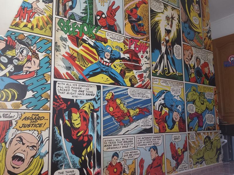 Fotomurales De Comic Papel Pintado Barcelona
