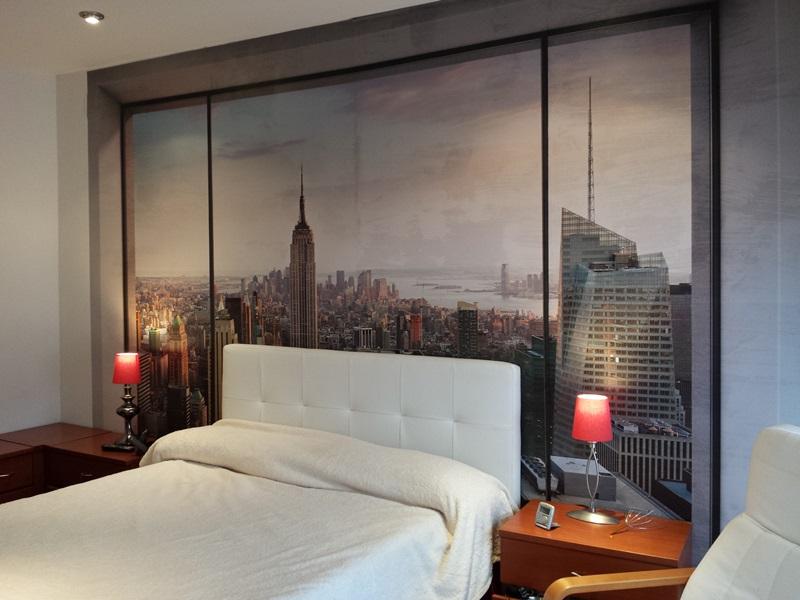 Decorar con paisajes naturales papel pintado barcelona - Papel pintado nueva york ...