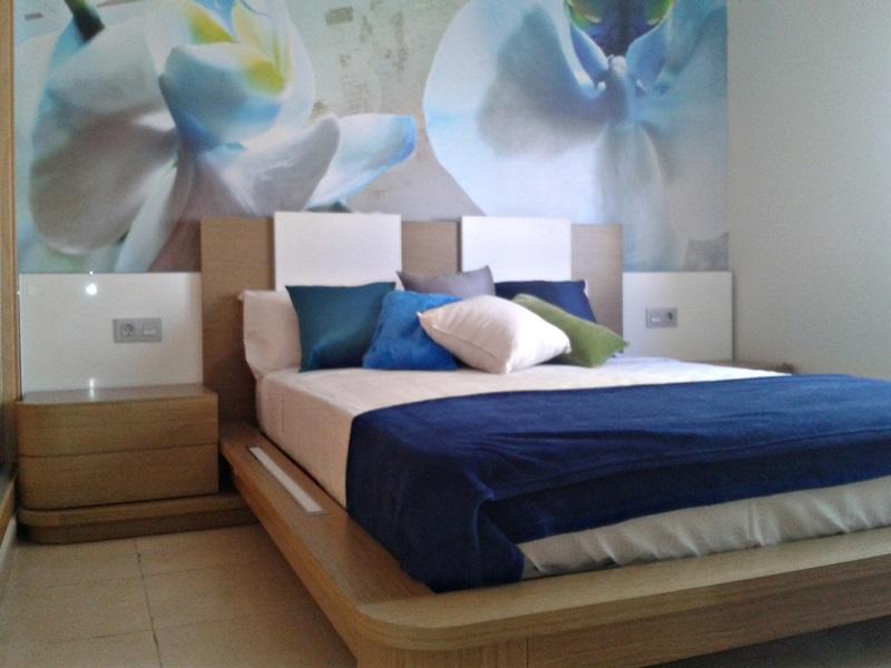 Fotomural Blue Flowers FT-1433