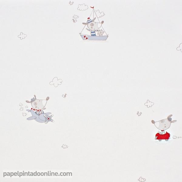 Papel Pintado Babies 10128