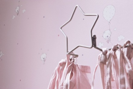 Papel Pintado Babies infantil en rosa pastel de ositos 10123