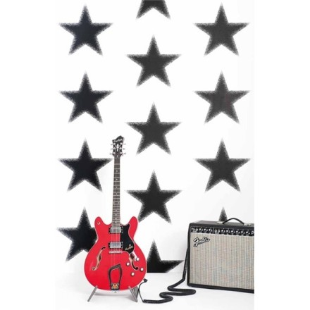 Papel Pintado Estrellas Negras Vibe 4996-5