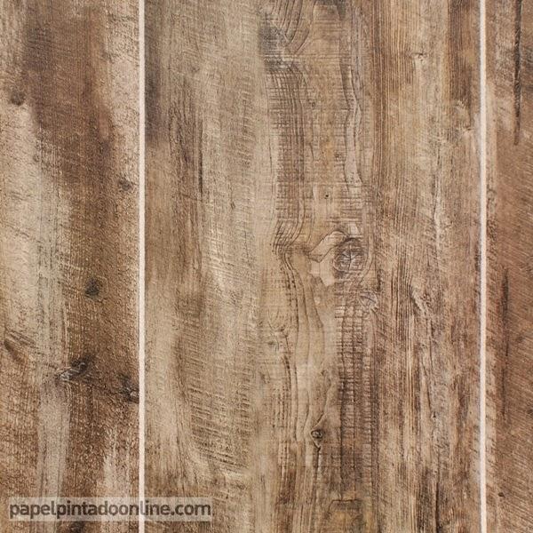 Papel pintado barato piedras y maderas papel pintado - Papel imitacion madera ...