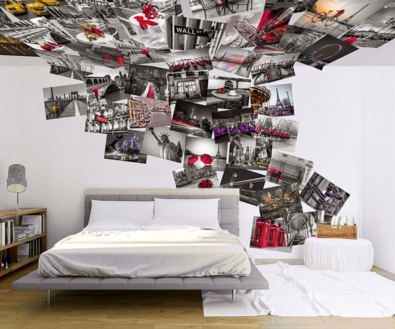 Decoracion de paredes con fotomurales papel pintado - Fotomurales barcelona ...