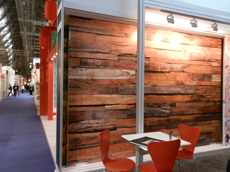 fotomural de madera idealdecor